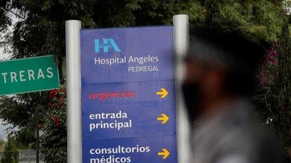 Emilio Lozoya ingresó en el hospital Ángeles Pedregal (Foto: REUTERS / Henry Romero)