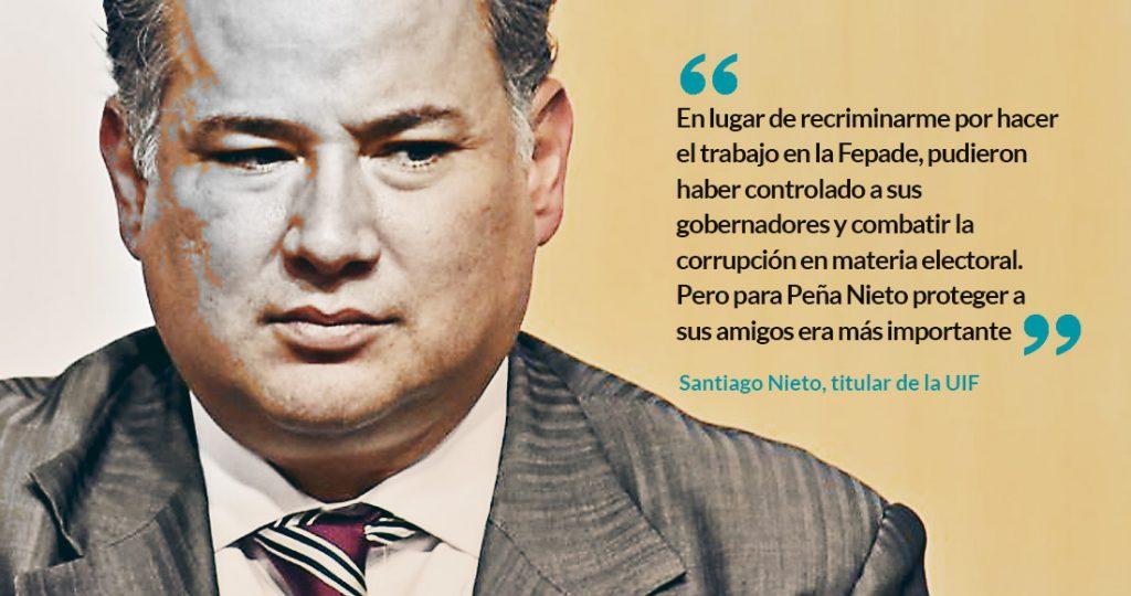 Odebrecht pagó las elecciones del PRI en Chihuahua, Edomex, QRoo y la EPN en 2012: Santiago Nieto