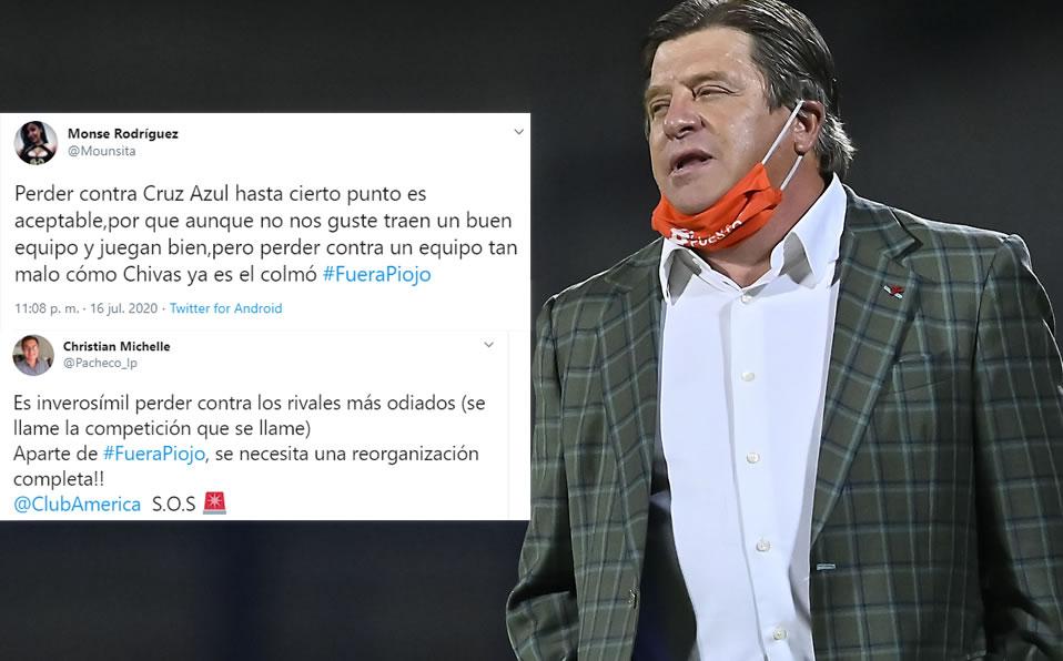 America-Chivas. Exigen una salida Miguel Herrera: Ir a comerciales