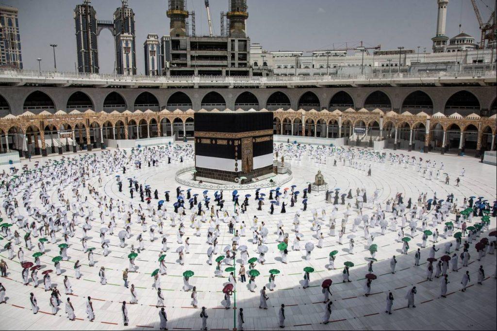 Arabia Saudita.- La peregrinación a La Meca comienza entre importantes restricciones debido al coronavirus.