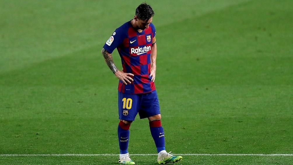 """Lionel Messi: """"Si continuamos así, también perderemos ante Napoli"""""""