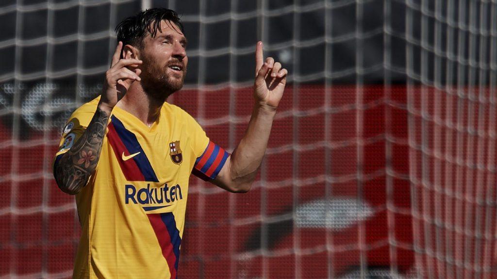 Lionel Messi conquista su séptima LaLiga 'Pichichi'