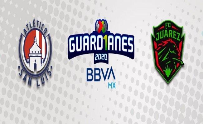 San Luis vs FC Juárez, suspendido por el coronavirus