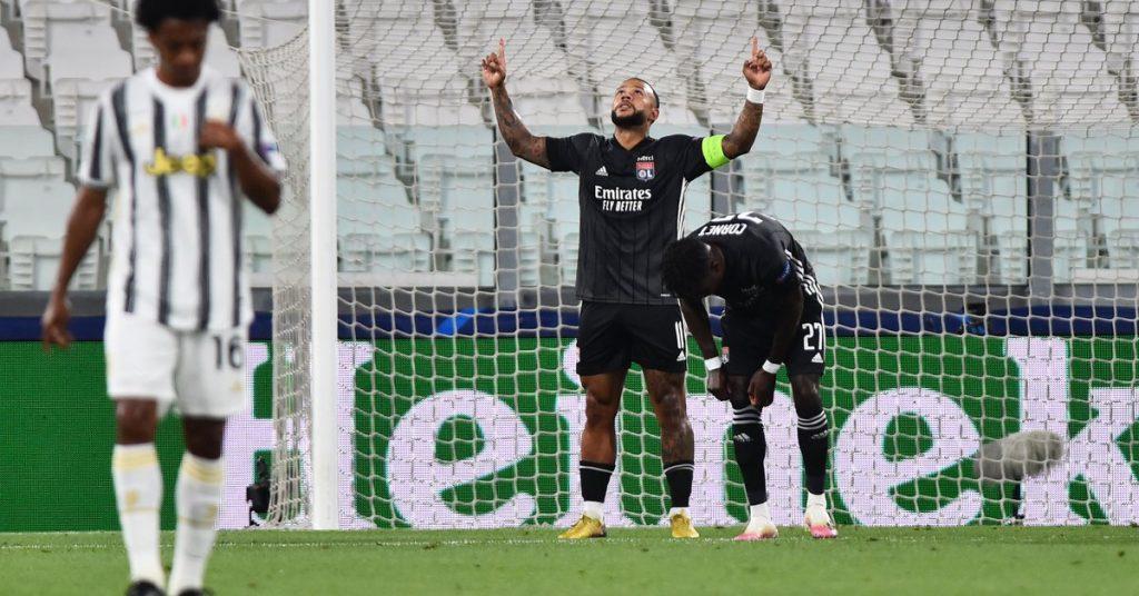 Dudosa infracción y definición a la Panenka: el lujoso penalti con el que el Lyon abrió el partido ante la Juventus