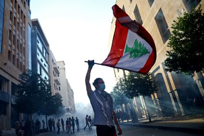 Los manifestantes exigen justicia y la renuncia de toda la clase política (REUTERS / Hannah McKay)