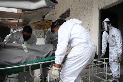 La Ciudad de México concentra la mayor cantidad de muertes e infecciones por COVID-19 (Foto: EFE / Archivo)