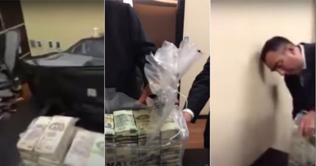 El VIDEO de las pacas de billetes de Pemex provoca enfado en las redes e indignación entre los políticos