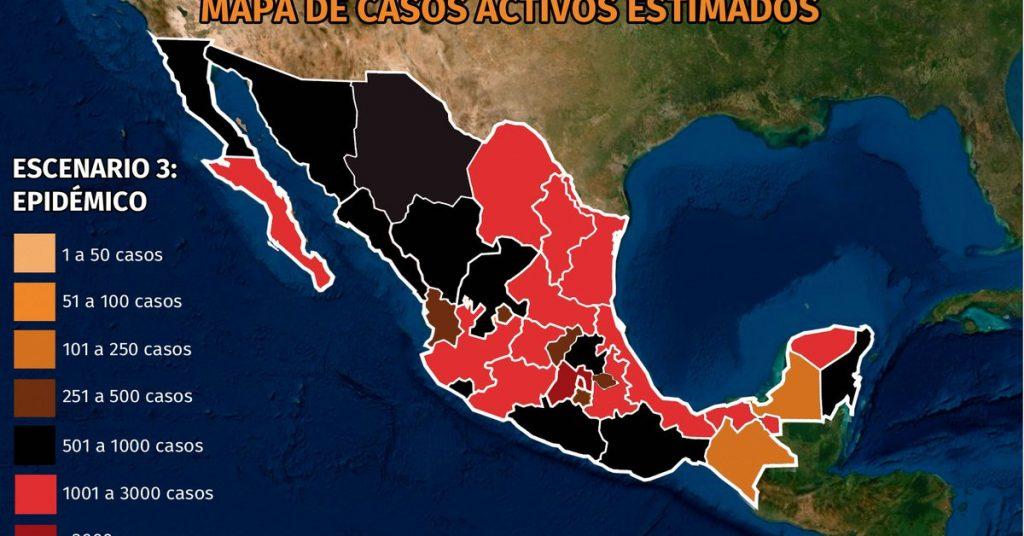 """Mapa del coronavirus en México 19 de agosto: con 45% de positividad, """"de cada 10 personas, cuatro o cinco contraen el virus"""""""