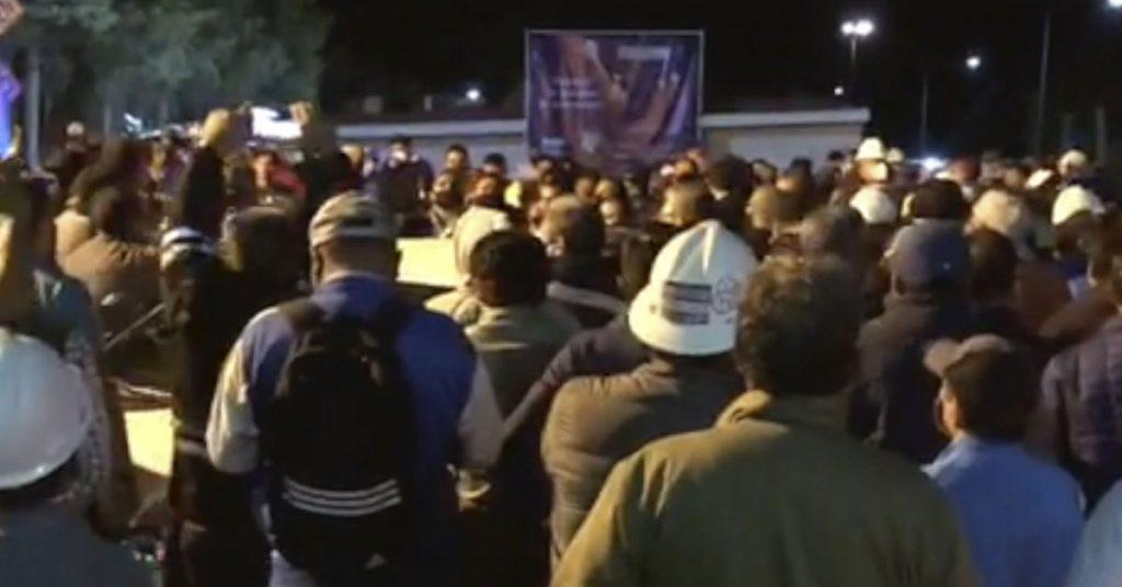 Shock group intentó apoderarse de las instalaciones de la Cooperativa Cruz Azul en Hidalgo