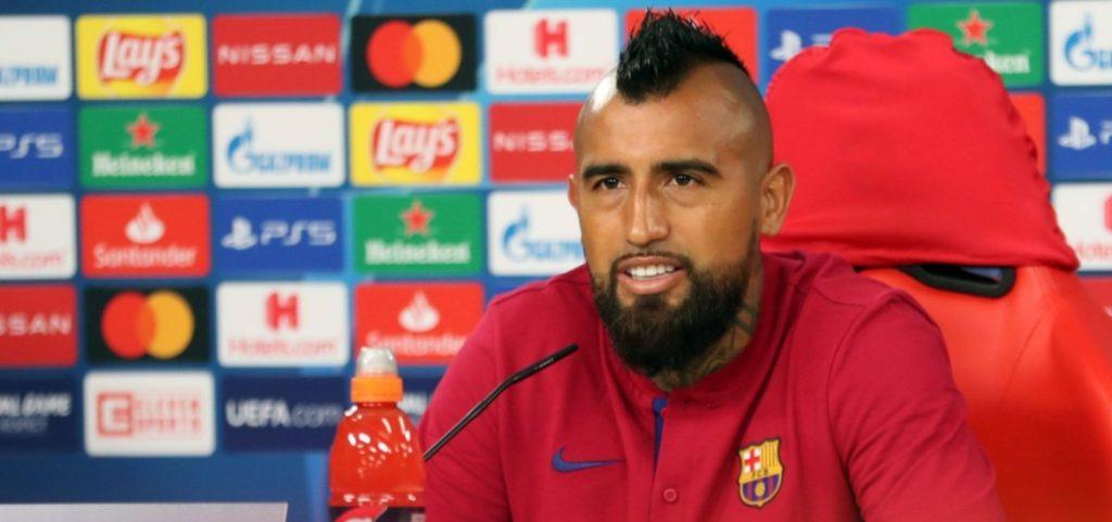 """Arturo Vidal: """"Mañana no juegan contra los equipos de la Bundesliga, pero sí contra el FC Barcelona, el mejor equipo del mundo"""""""