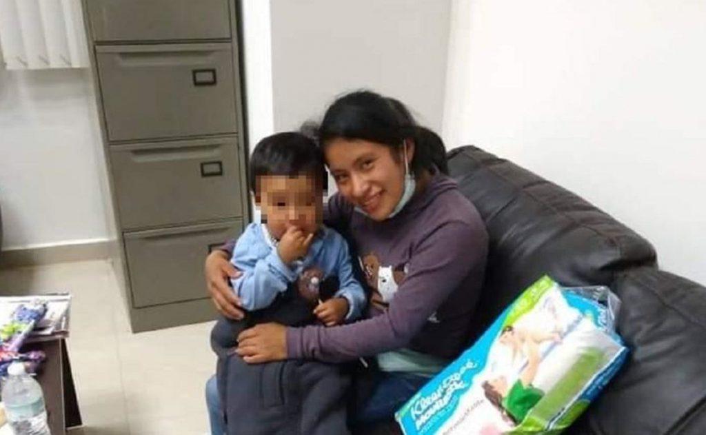 Encuentran a Dylan, el bebé desaparecido en Chiapas