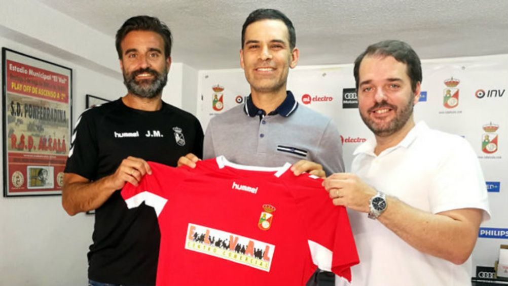 Rafael Márquez: Fue anunciado como el nuevo entrenador de RSD Alcalá para la categoría Cadete A